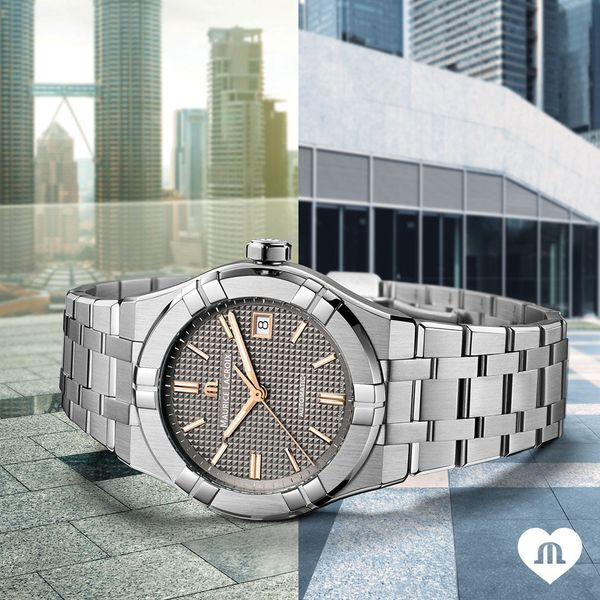 Maurice Lacroix Watch AIKON Automatic 39mm AI6007-SS002-331-2 Image 2 Mollys Jewelers Brooklyn, NY
