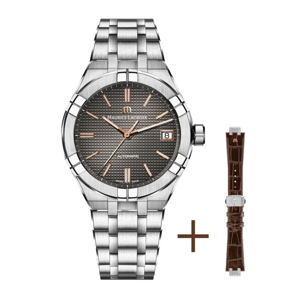 Maurice Lacroix Watch AIKON Automatic 39mm AI6007-SS002-331-2 Mollys Jewelers Brooklyn, NY