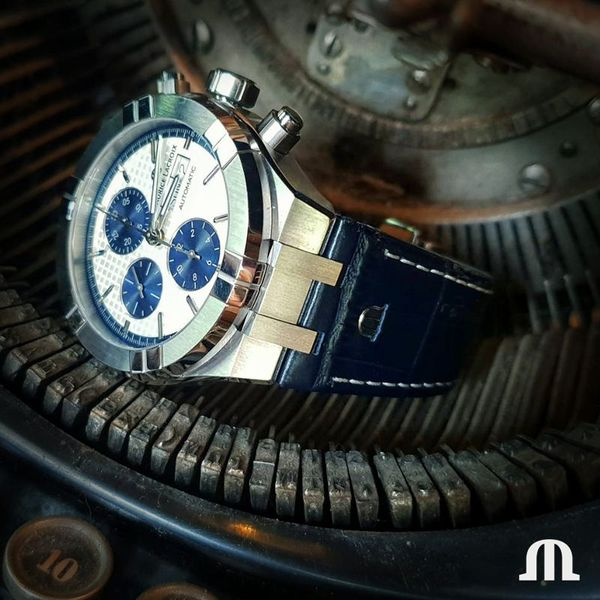 Maurice Lacroix Watch AIKON Automatic Chronograph 44mm AI6038-SS001-131-1 Image 5 Mollys Jewelers Brooklyn, NY