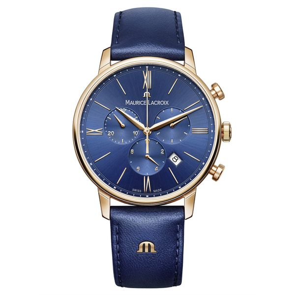 Maurice Lacroix Watch ELIROS Chronograph 40mm EL1098-PVP01-411-1 Mollys Jewelers Brooklyn, NY