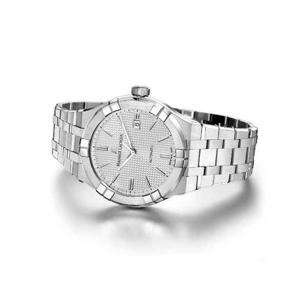Maurice Lacroix Watch AIKON Automatic 42mm AI6008-SS002-130-1 Image 2 Mollys Jewelers Brooklyn, NY
