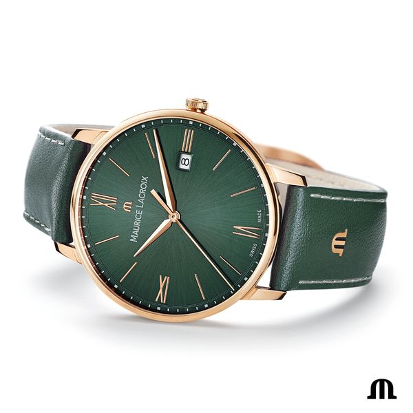 Maurice Lacroix Watch ELIROS Date 40mm EL1118-PVP01-610-1 Image 4 Mollys Jewelers Brooklyn, NY