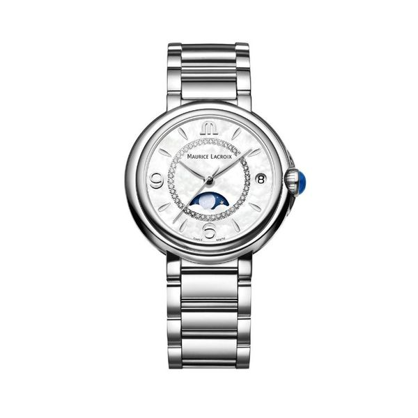 Maurice Lacroix Watch FIABA Moonphase 32mm FA1084-SS002-170-1 Mollys Jewelers Brooklyn, NY