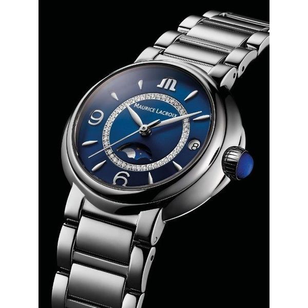 Maurice Lacroix Watch FIABA Moonphase 32mm FA1084-SS002-420-1 Image 2 Mollys Jewelers Brooklyn, NY