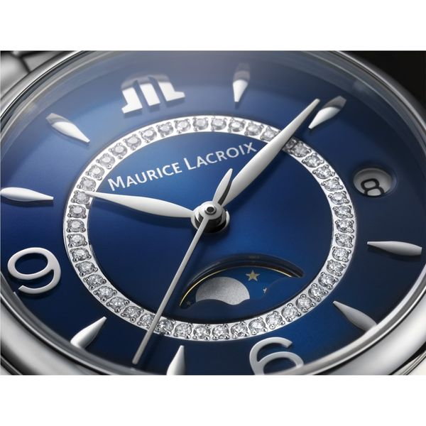 Maurice Lacroix Watch FIABA Moonphase 32mm FA1084-SS002-420-1 Image 3 Mollys Jewelers Brooklyn, NY
