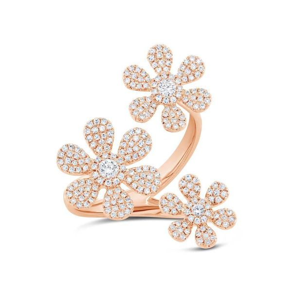 Flower Fashion Ring Moore Jewelers Laredo, TX