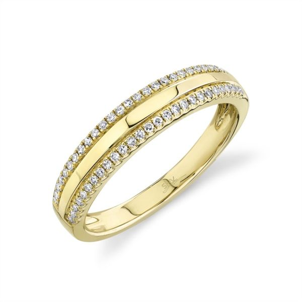 Lady's Yellow 14 Karat Stackable Fashion Ring Moore Jewelers Laredo, TX
