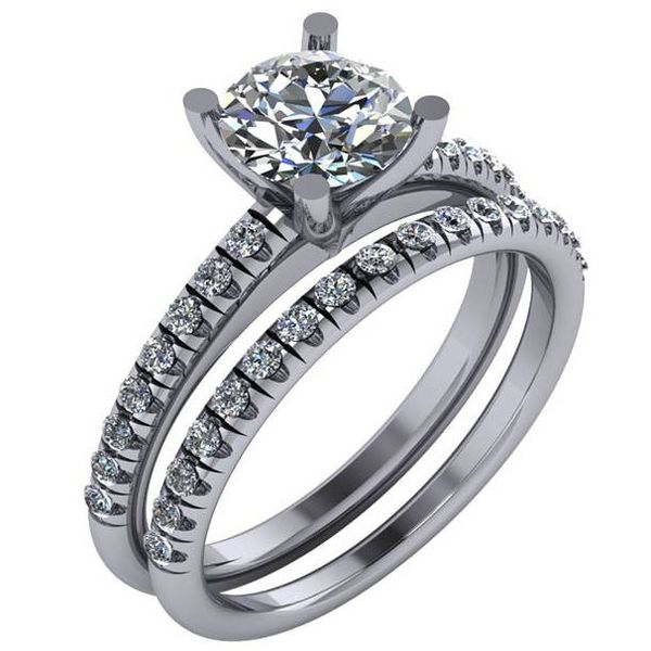 14 Karat Semi-Mount Ring Moore Jewelers Laredo, TX