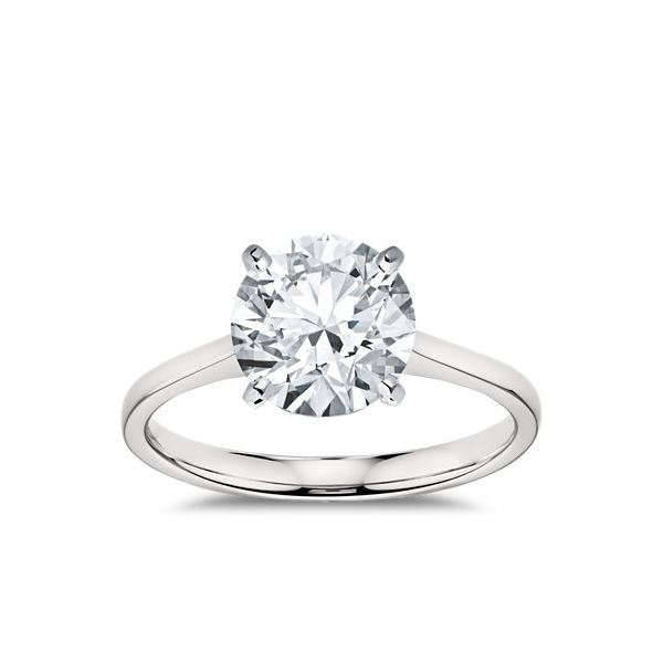 Diamond Solitaire Ring With 1.06 Carat Round Cut Moore Jewelers Laredo, TX