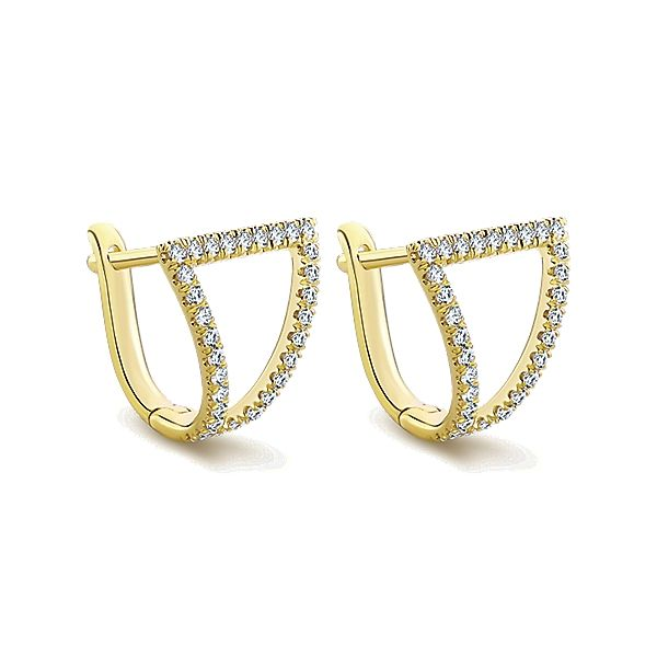 Yellow 14 Karat Earrings Moore Jewelers Laredo, TX