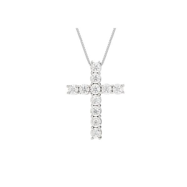 Diamond Cross Pendant Moore Jewelers Laredo, TX