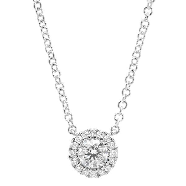 Lady's White 14 Karat Necklace Moore Jewelers Laredo, TX