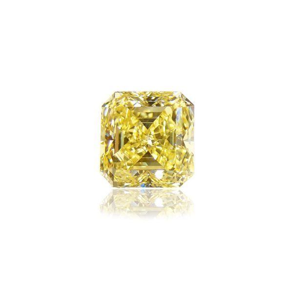 Loose Radiant Cut Yellow Diamond Moore Jewelers Laredo, TX