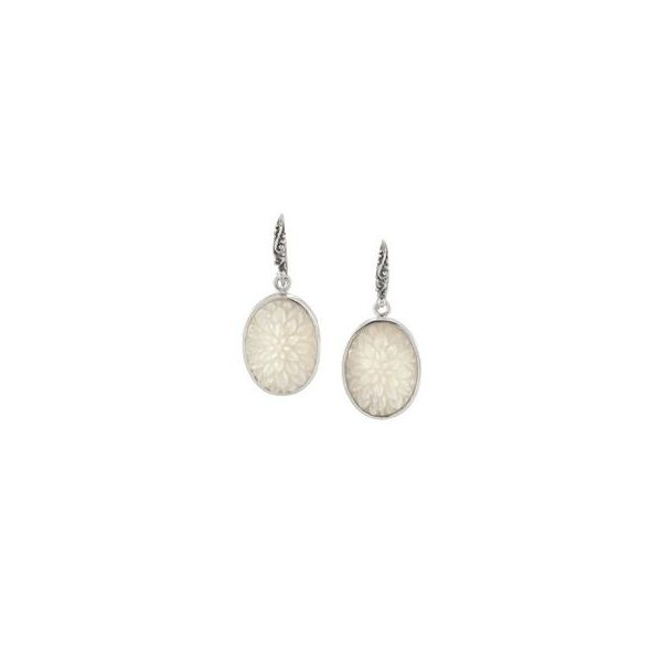 Sterling Silver Dangle Pear Earrings Moore Jewelers Laredo, TX