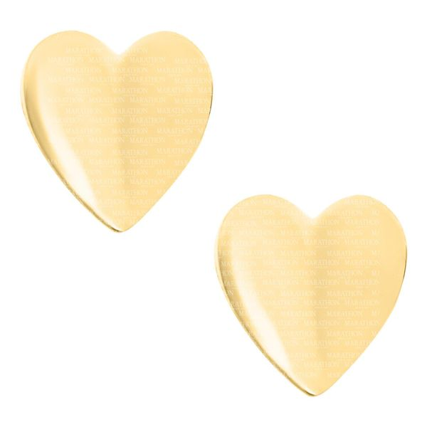 Children's Heart Earrings With Safety Screw Backs Moore Jewelers Laredo, TX