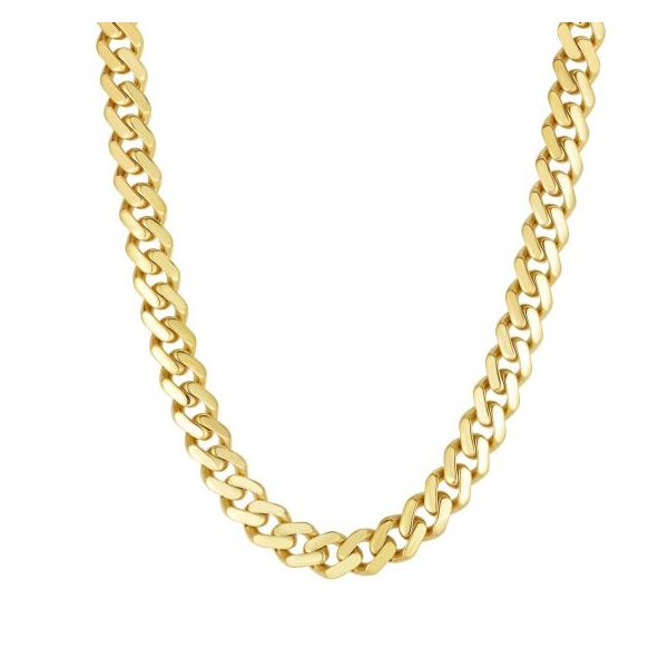 Royal Chain Gold Necklace Morrison Smith Jewelers Charlotte, NC