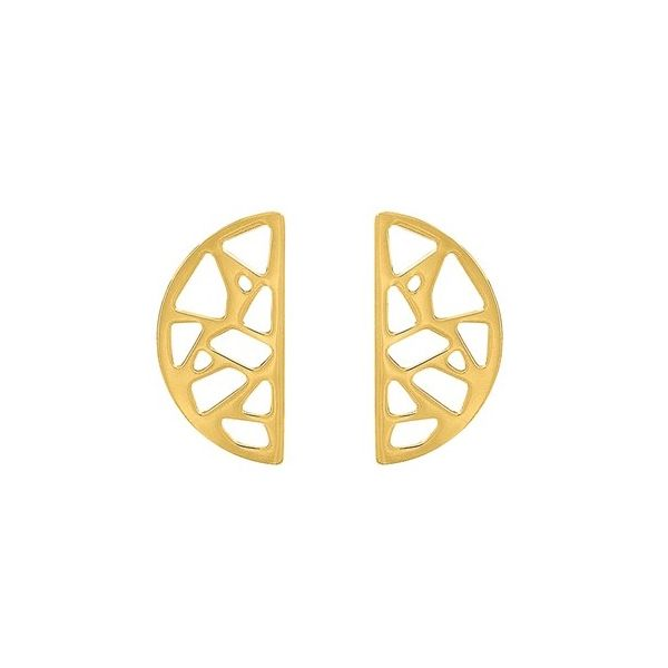 Sterling/Gold Earrings Morrison Smith Jewelers Charlotte, NC