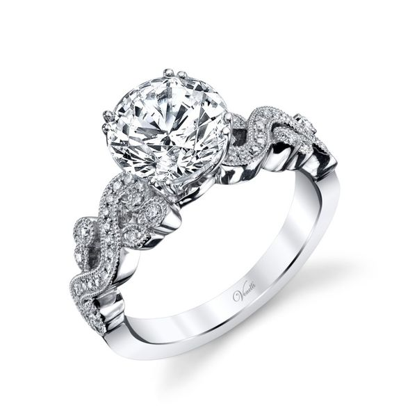 Engagement Rings: Semi Mount. Diamond not included Javeri Jewelers Inc Frisco, TX