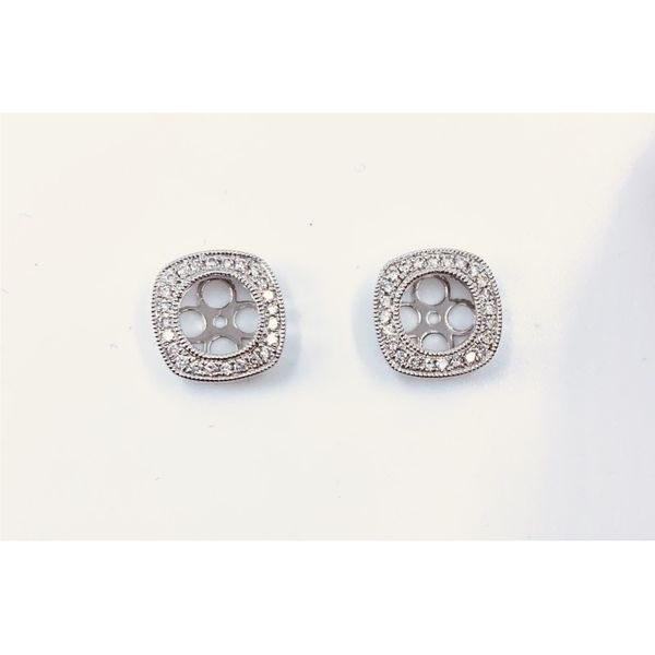 Diamond Semi-Mount Earrings Javeri Jewelers Inc Frisco, TX