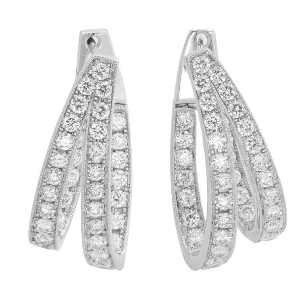 Diamond Earrings Javeri Jewelers Inc Frisco, TX