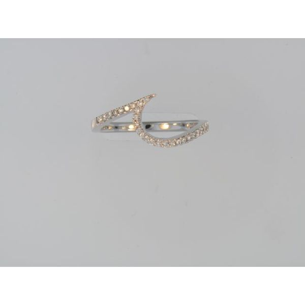 Lady's 14K White Gold Wedding Band w/Diamonds Orin Jewelers Northville, MI