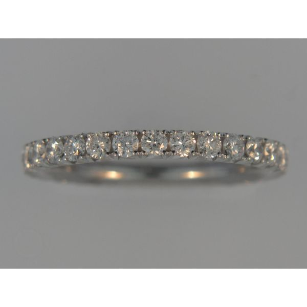 Lady's 18K White Gold Eternity Band W/29 Diamonds Orin Jewelers Northville, MI