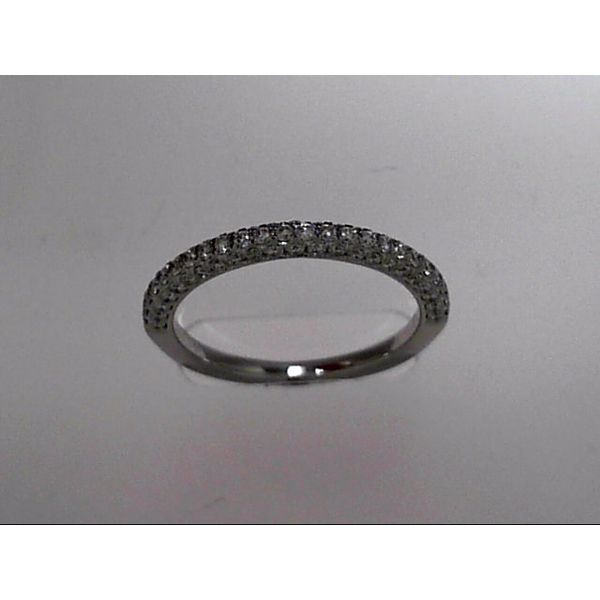 14 Karat White Gold Wedding Band With 72 Diamonds Orin Jewelers Northville, MI