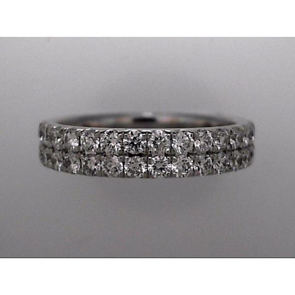 14 Karat White Gold Wedding Band With 32 Diamonds Orin Jewelers Northville, MI