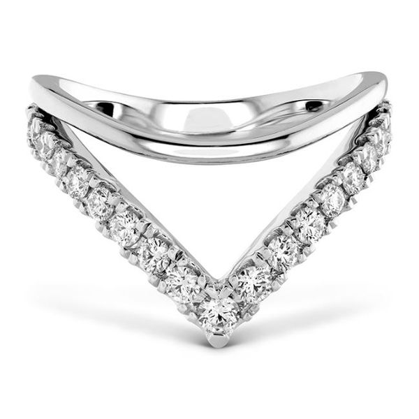 18k White Gold Hayley Paige Harley Silhouette Power Band by Hearts on Fire Orin Jewelers Northville, MI