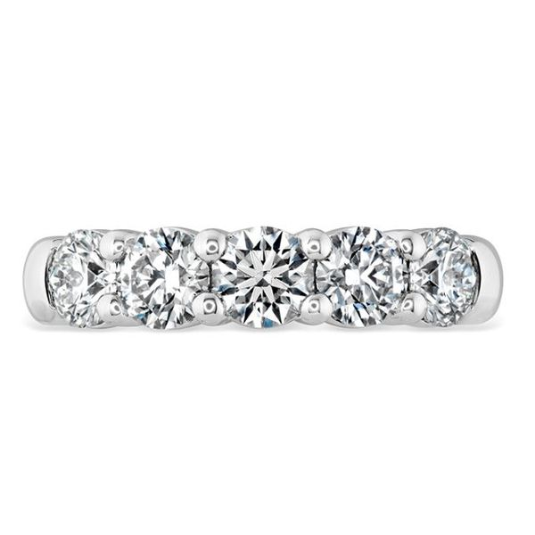 18k White Gold Signature 5 Stone Band by Hearts on Fire Orin Jewelers Northville, MI