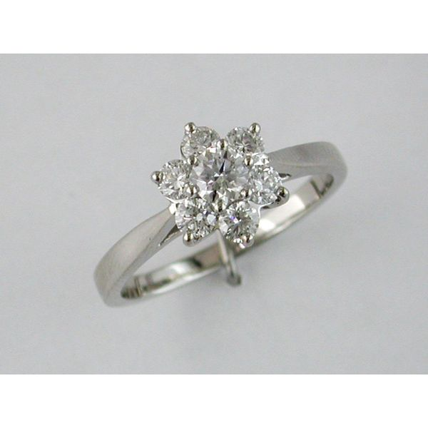 Lady's Platinum Fashion Ring w/7 Diamonds Orin Jewelers Northville, MI