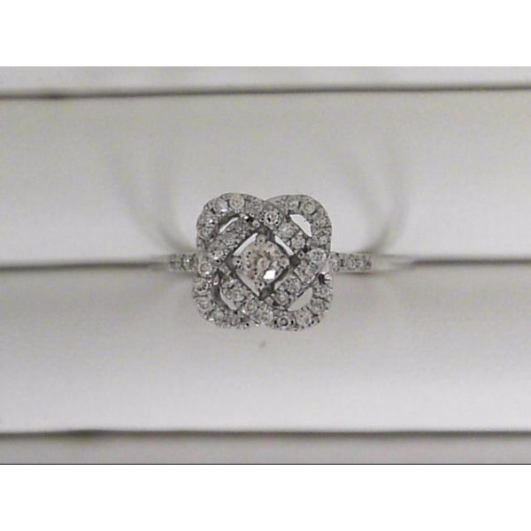 14k White Gold Fashion Ring With 39 Diamonds Orin Jewelers Northville, MI
