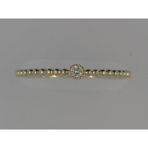 14k Yellow Gold Fashion Ring With 1 Diamond Orin Jewelers Northville, MI