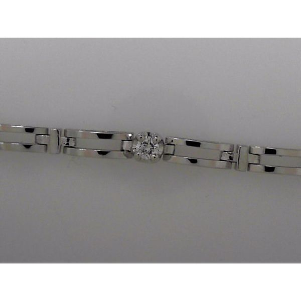14k White Gold Diamond Bracelet Orin Jewelers Northville, MI