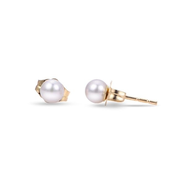 14ky 3mm  Cultured Pearl Stud Earrings Orin Jewelers Northville, MI