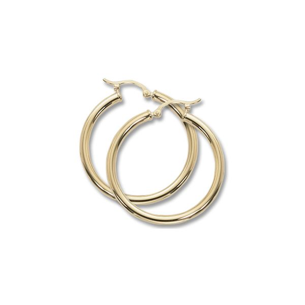 14k Yellow Gold Hoop Earrings Orin Jewelers Northville, MI