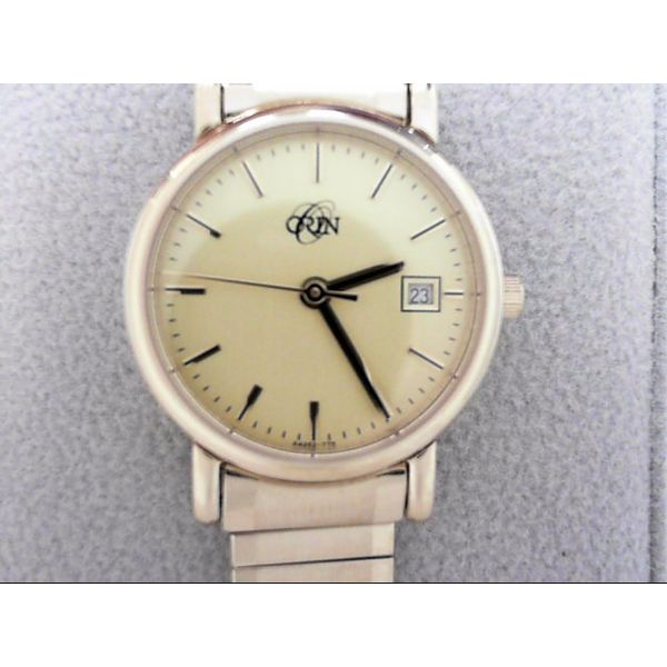 Lady's ORIN Watch Yellow Case, Dial, Expansion Band Orin Jewelers Northville, MI