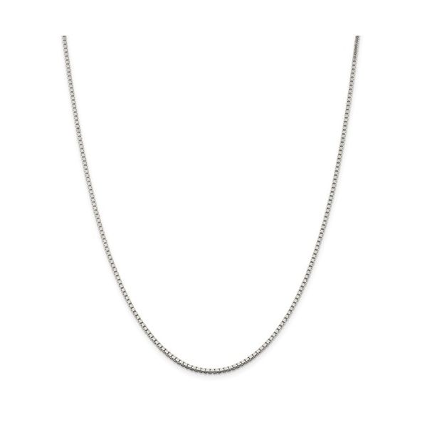 Sterling Silver Box Chain, Length 20