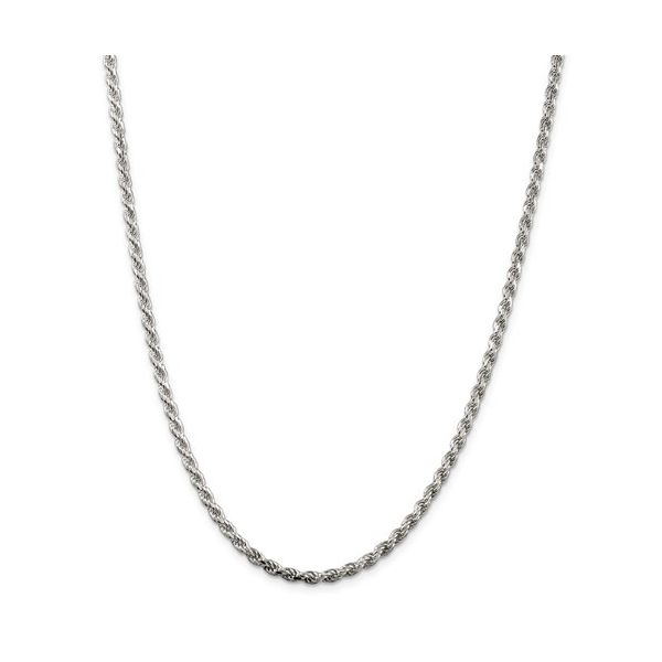 Sterling Silver Rope Chain Length 18