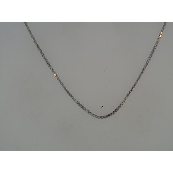 Sterling Silver Box Chain Length 22