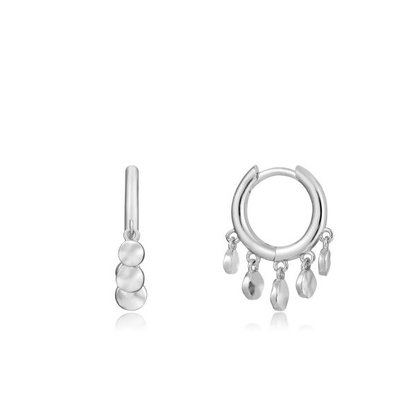 Sterling Silver Mini Disc Huggie Hoops By Ania Haie Orin Jewelers Northville, MI