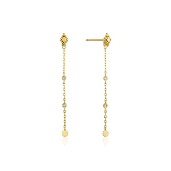 Sterling Silver Gold Plated Bohemia Drop Earrings By Ania Haie Orin Jewelers Northville, MI