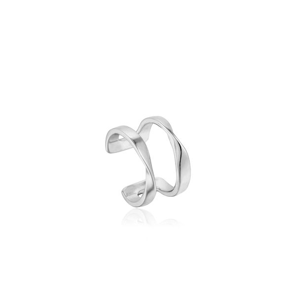 Sterling Silver Twist Ear Cuff by Ania Haie Orin Jewelers Northville, MI