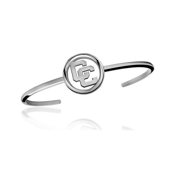 Sterling Silver Cuff Bracelet With Open Circle CC Orin Jewelers Northville, MI