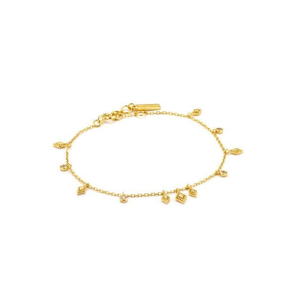 Sterling Silver Gold Plated Bohemia Bracelet By Ania Haie Orin Jewelers Northville, MI