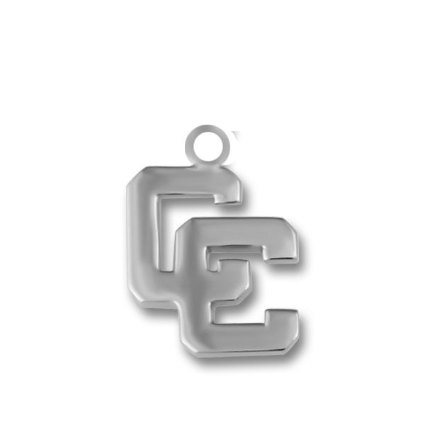 Sterling Silver CC Mini Block Charm Orin Jewelers Northville, MI