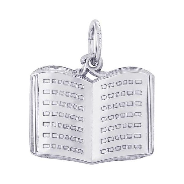 Sterling Silver Book Charm Orin Jewelers Northville, MI