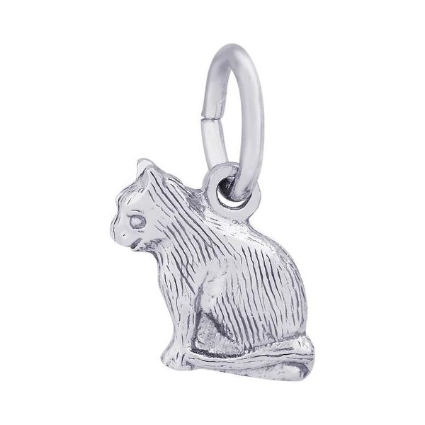 Sterling Silver Cat Charm Orin Jewelers Northville, MI