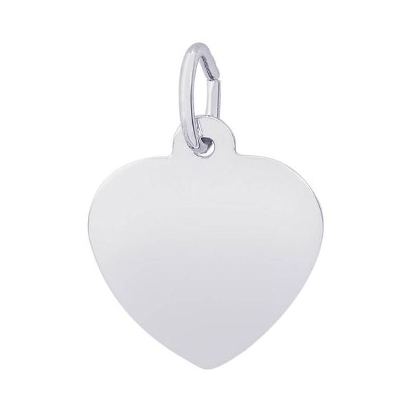 Sterling Silver Classic Heart Charm Orin Jewelers Northville, MI
