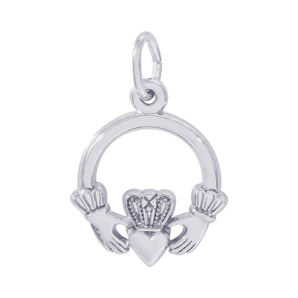 Sterling Silver Claddagh Charm Orin Jewelers Northville, MI
